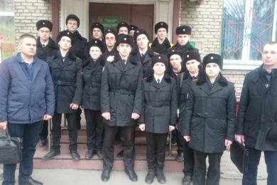 Приображенские кадеты 04.04.2017