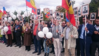 Участники открытия мемориала 2017г.