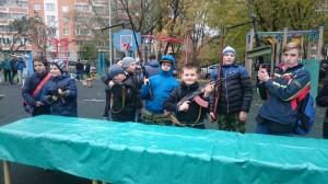 День призывника в районе Вешняки