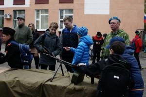 День призывника в районе Ивановское